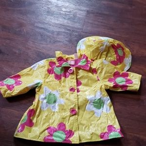 Toddler rain coat and hat